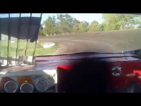 Heat race Lincoln County Raceway 5-17-2014