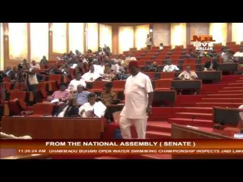 NTA Exclusive: Senate Plenary For Wednesday 11/1/17