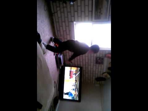 Matthew doin Gangnam Style