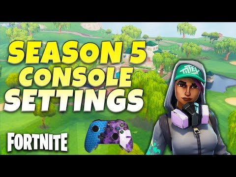 Fortnite Season 5 Best Console Settings | How To Build Better