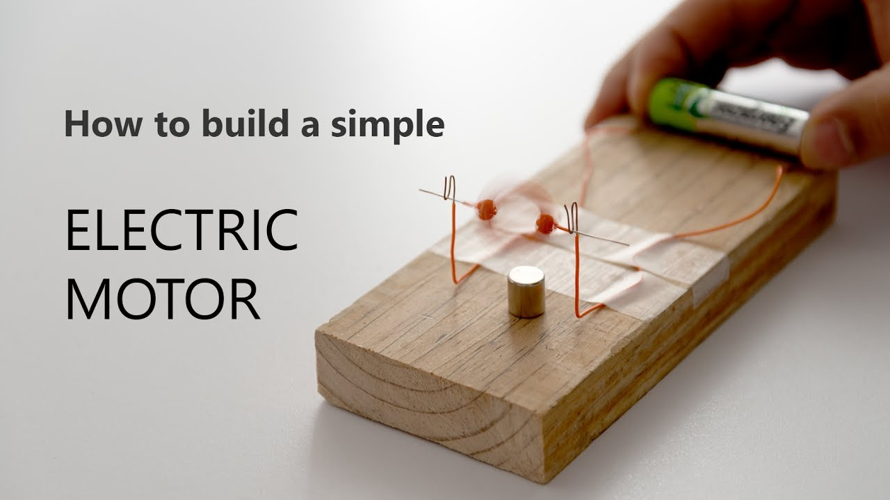 How To Build a Simple Electric Motor  YouTube