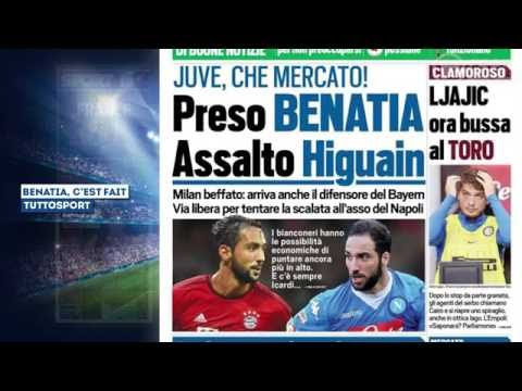 Guardiola va s'offrir Leroy Sané, la Juventus va signer Benatia et veut Higuain