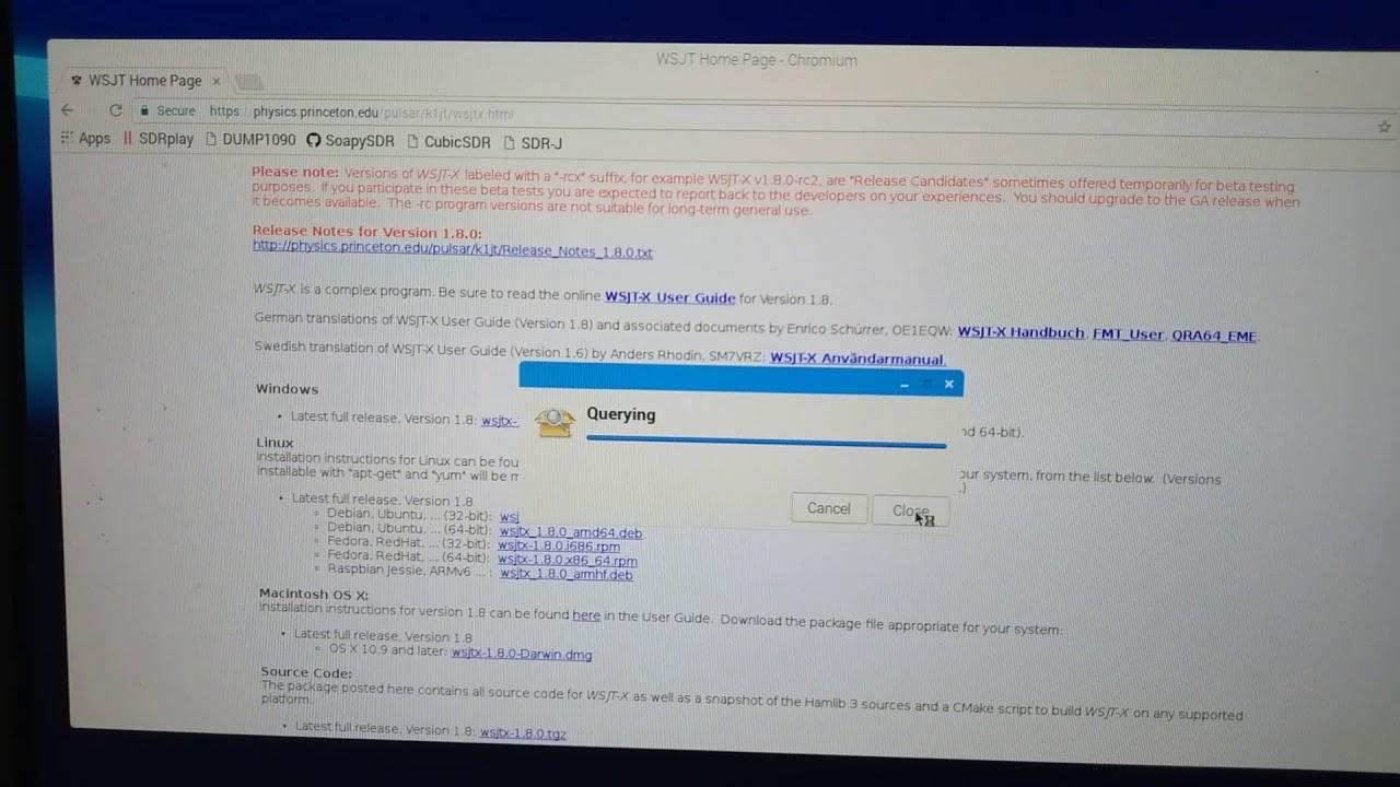 How to install WSJT-X onto a Raspberry Pi