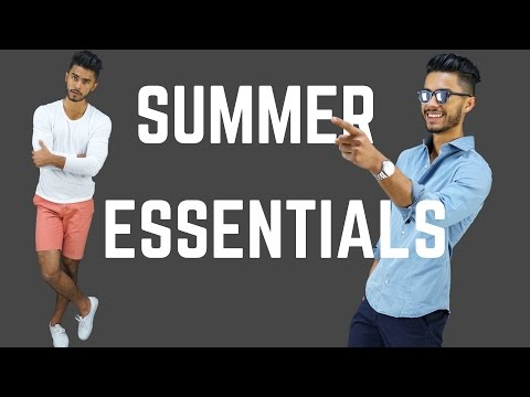7 Men's Summer Essentials | Style Must Haves To Stay Cool & Stylish!