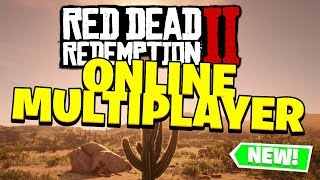 Red Dead Redemption 2 - Online Multiplayer (News and Leaks?)