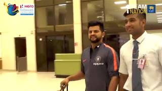 India team arrives in Colombo for Hero Nidahas Trophy