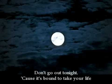 Bad Moon Rising (with lyrics)