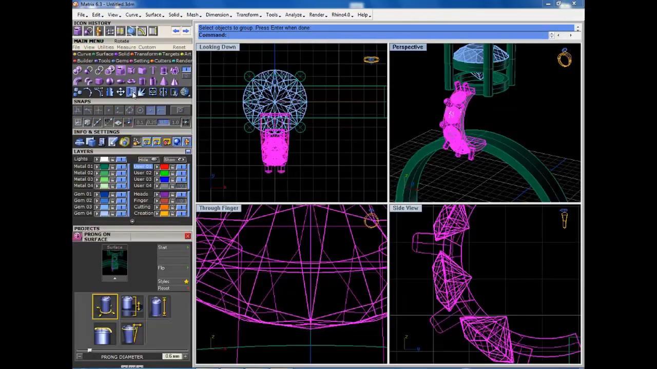 Gemvision matrix-8 tutorial/ custom pattern made with uv youtube.