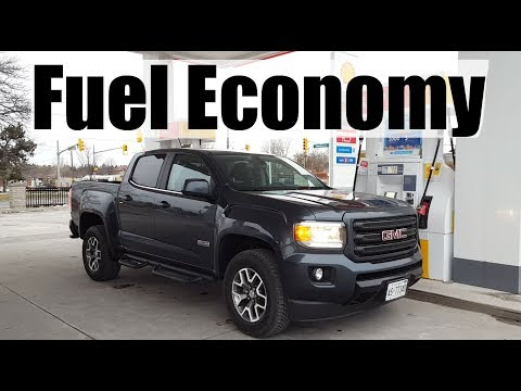 2019 GMC Canyon - Fuel Economy MPG Review + Fill Up Costs