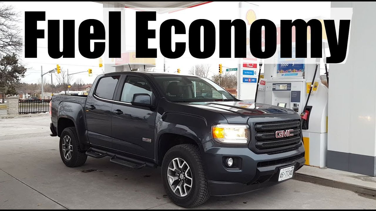 2019 Gmc Canyon Fuel Economy Mpg Review Fill Up Costs Youtube
