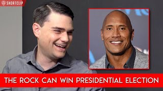 Baixar Ben Shapiro Believes The Rock Can Win 2020 Presidential Election
