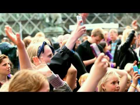 The Grand Finale in Copenhagen Town Hall Square