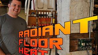 diy radiant floor heat