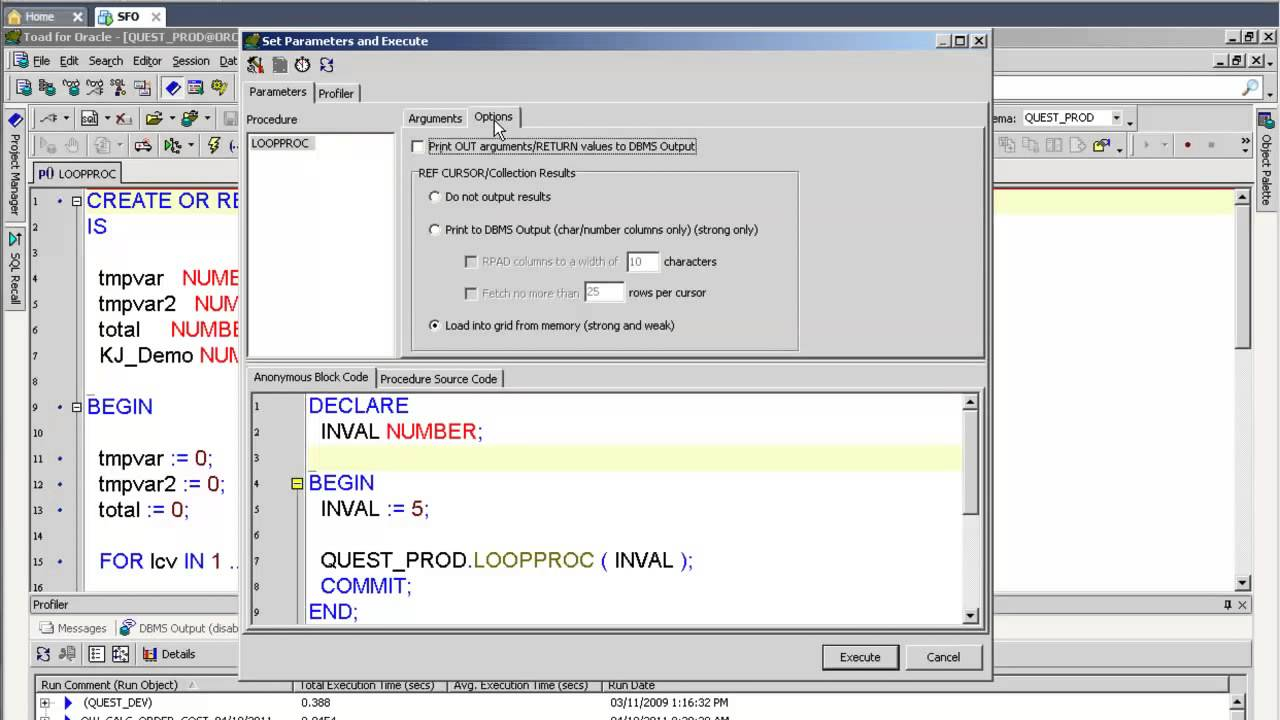 debugging pl sql code with toad for oracle youtube rh youtube com toad for oracle guide pdf toad for oracle manual pdf