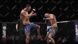 Тони Фергюсон VS Макс Холлоуэй (Полное видео боя: UFC 3)