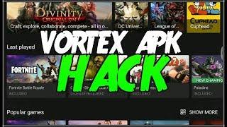 ¡¡DESCARGA APK HACK de VORTEX GLOUD GAMING para ANDROID!!