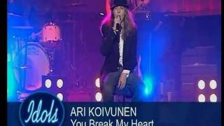 ari koivunen you break my heart