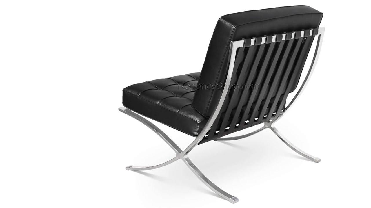 barcelona chair replica uk wedding covers wholesale canada imitation kitchen and bedroom interior design ibiza reproduction regencyshop com youtube rh