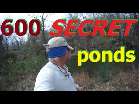 SECRET PONDS ohio power aep FISHING TIPS big bass scouting