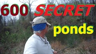 SECRET PONDS ohio power aep FISHING TIPS big bass scouting