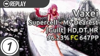Cover images Vaxei | supercell - My Dearest (TV Edit) [Guilt] HDDTHR FC 96.23% 647pp
