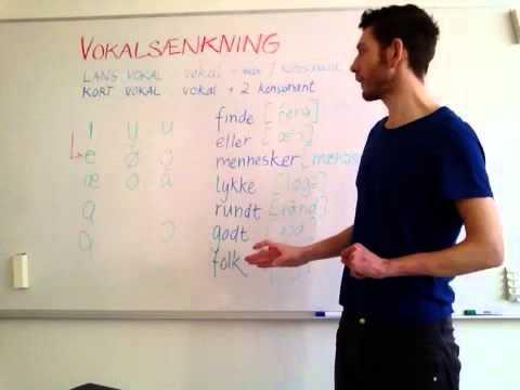 danske vokaler udtale