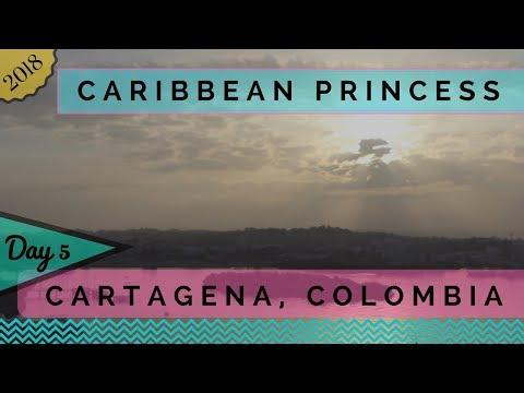 Caribbean Princess - 2018 Panama Canal Cruise Day 5 - Cartagena, Colombia