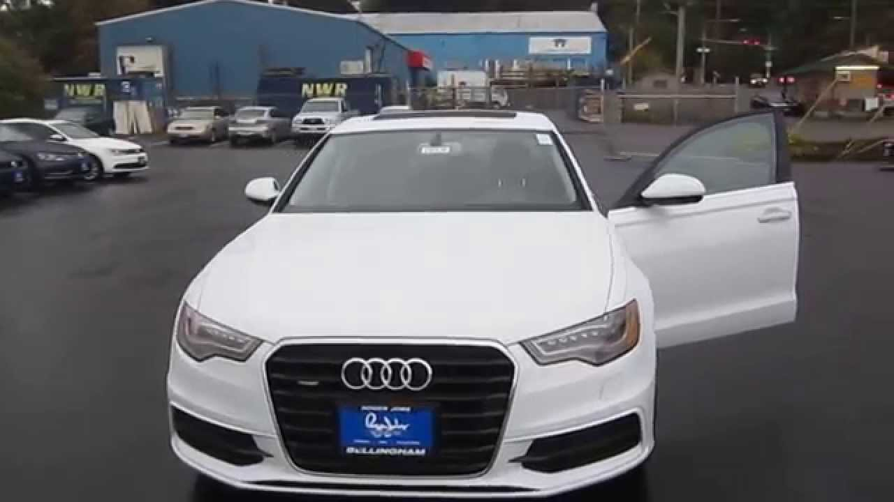 2015 Audi A6, Ibis White   STOCK# 110139   Walk Around   YouTube