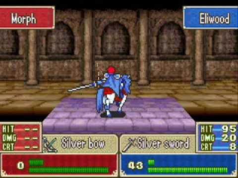 Eliwood Fire Emblem Sprite