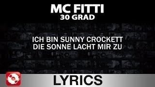 MC FITTI - 30 GRAD AGGROTV LYRICS KARAOKE (OFFICIAL VERSION)