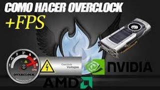 COMO HACER OVERCLOCK A UNA AMD A10 | LAPTOP