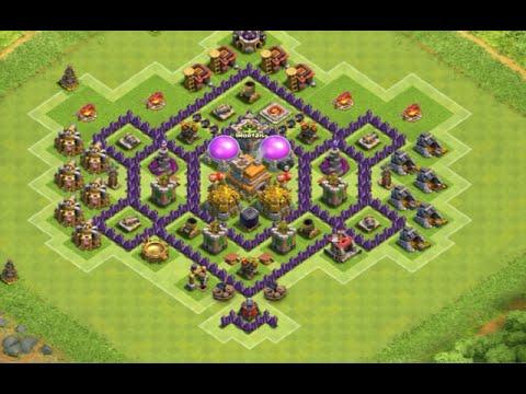clash of clans layout cv 7 farm push ep 10 youtube