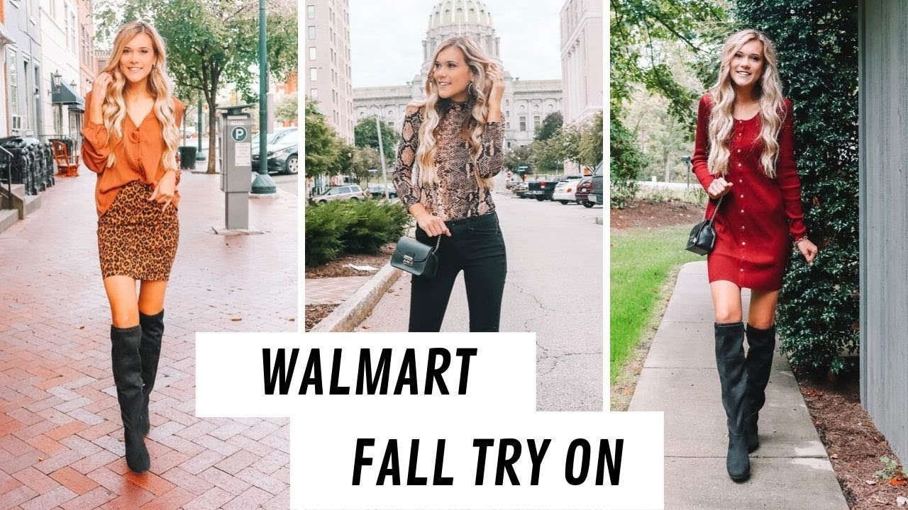 [VIDEO] - Huge Walmart Fall Outfit Ideas! Try On 2019 9