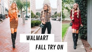 Huge Walmart Fall Outfit Ideas! Try On 2019
