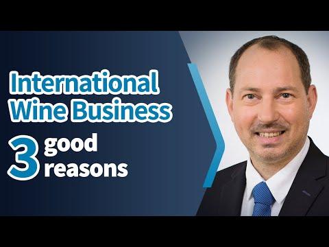 3 good reasons I to study International Wine Business