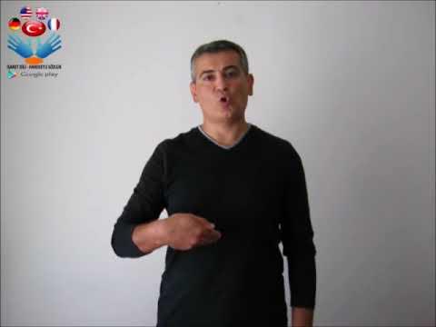 Komedi - işaret dili