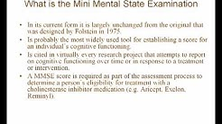 Part 1 - How To Use The Mini Mental State Examination