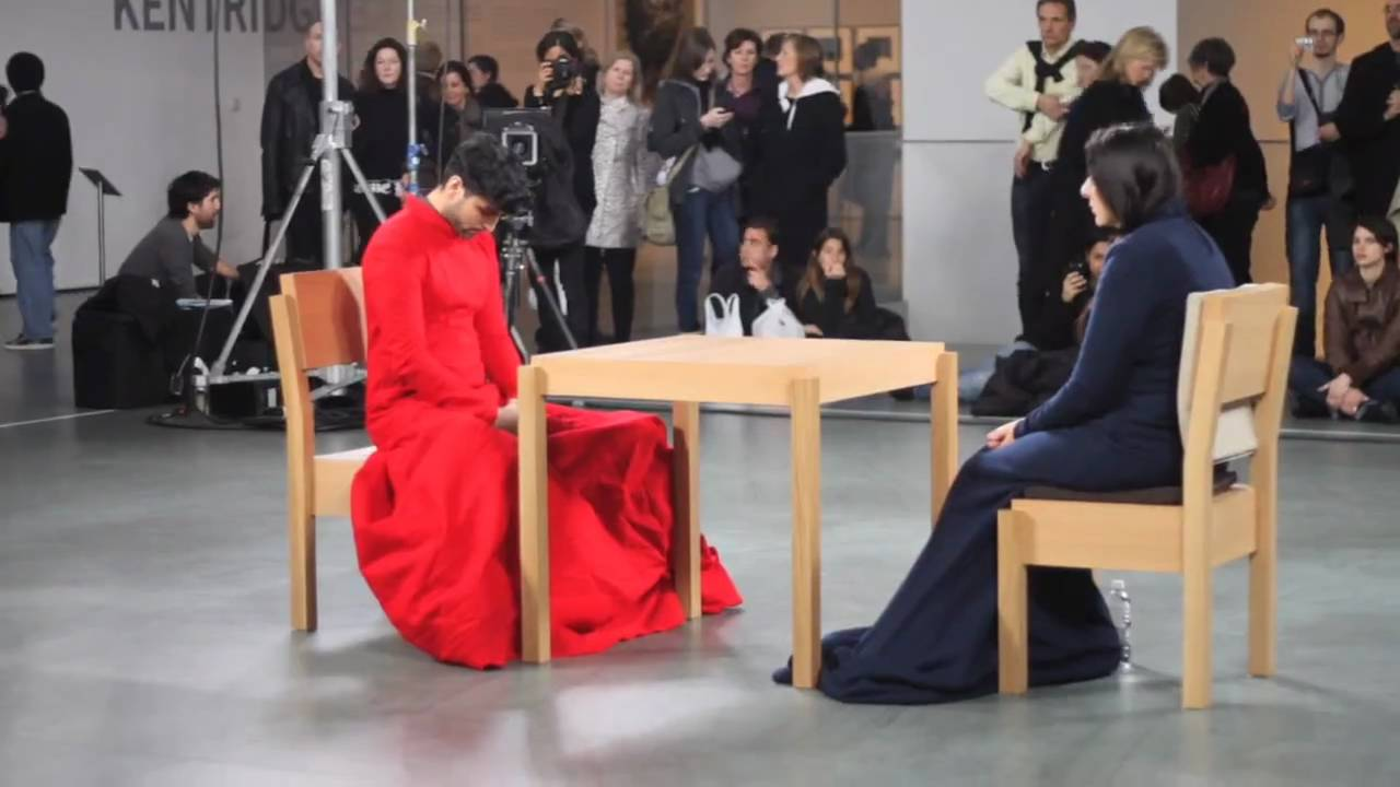 Amir Baradaran Act I Bodies And Wedding On Marina Abramovics The Artist Is Present Youtube