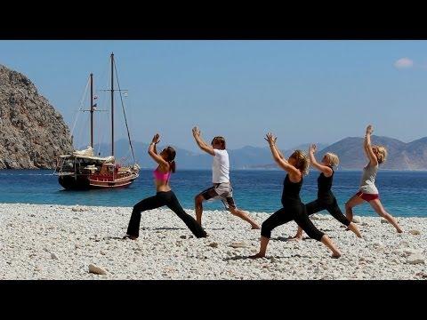 Yoga vakantie in Turkije, een zeilvakantie op een luxe blue cruise met yoga!