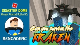 A Deadly Monster Attacked on Roblox HQ!