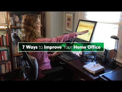 7 Ways to Improve Your Home Office | Consumer Reports