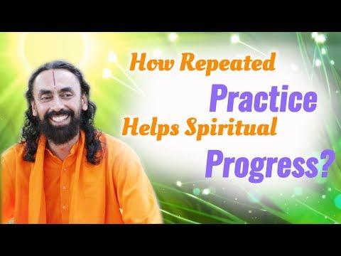 How Repeated Practice Helps Spiritual Progress? Patanjali Yoga Sutras Part14 - Swami Mukundananda