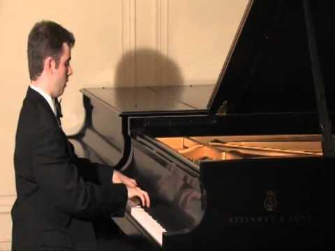 Joe Shippee plays Schumann - Fantasy in C Op 17, 3rd movement