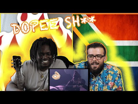 SAUDI - THERE SHE GO feat A REECE    Americans React To African Videos