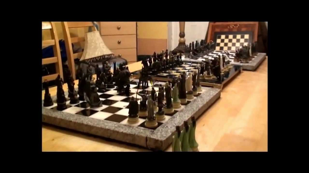 Lord Of The Rings Chess Set 3 Of 3 Youtube