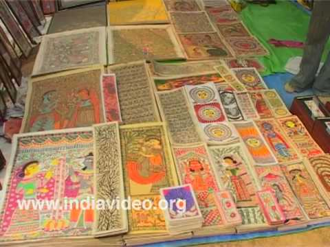 Traditional Madhubani Paintings from Bihar