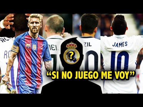 El reemplazo de James que alista el Madrid | Messi le pone condiciones al Barcelona
