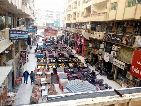 مدينة سورية في قلب القاهرة،  وانتشار الشاورما السورية في مصر – جيران