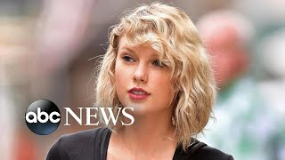 Taylor Swift endorses Democrats in Tennessee with rare political statement
