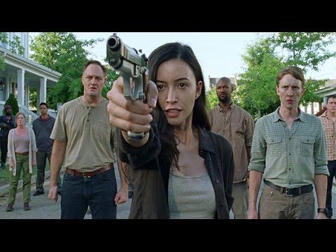 The Walking Dead: S07E08 - ROSITA SHOOTS LUCILLE & OLIVIA DEATH SCENE! (HD)